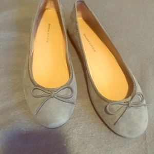 Banana Republic Robin Ballet Flats-Grey