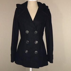 Miss Sixty hooded pea coat