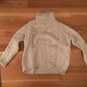 Gray cozy sweater