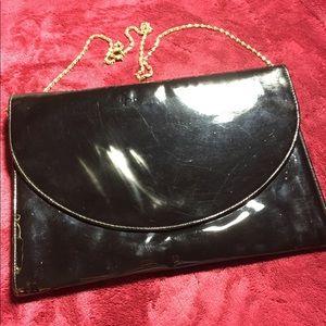 Vintage envelope clutch handbag large