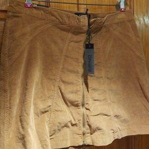 Buffalo David Bitton Zip Up Skirt