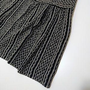 New Madewell silk skirt in tidalwave
