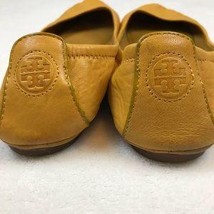 Tory Burch Golden Yellow Ballet Flats - size 8