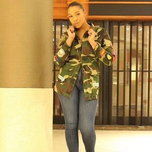 Jackets & Blazers - Camouflage Military Jacket