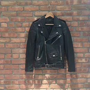 BLK DNM Oversized Motorcycle Jacket (Women's XS)