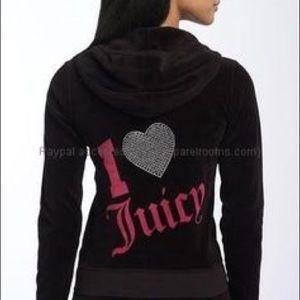 """Juicy Couture """"I Love Juicy"""" Hoodie"""