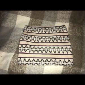 Pacsun Tribal skirt