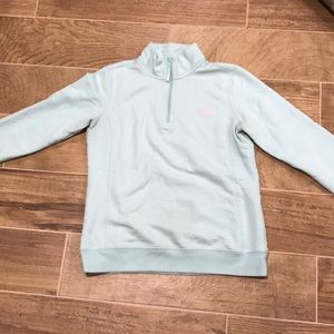 Women's Vineyard Vines Mint microfleece 1/4 zip