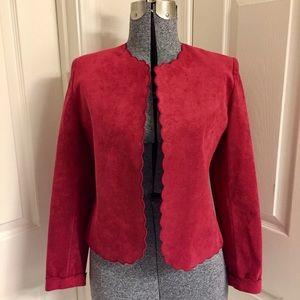 VINTAGE Lilli Ann Ultra Suede jacket