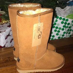 Tan tall UGG boots