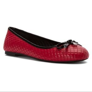 Michael Kors Melody Quilted Ballet Flats 6M