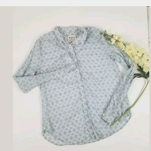 Anthropologie Holding Horses Button Down Size 8