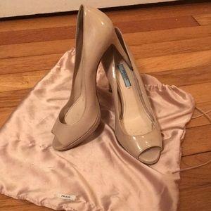 Prada Patent Leather Heel