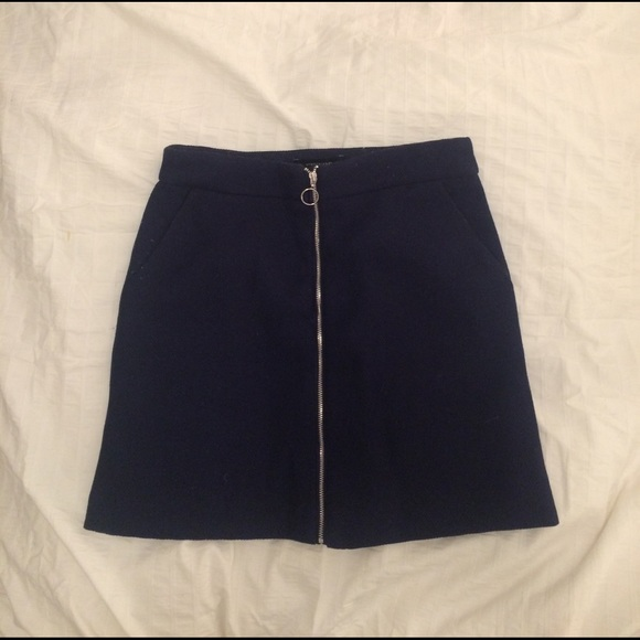 e0ee9b28f293 Atmosphere Skirts | Navy Blue Mini Skirt | Poshmark