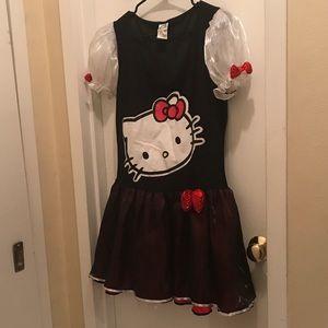 Hello Kitty Dress/Custom with leg warmers