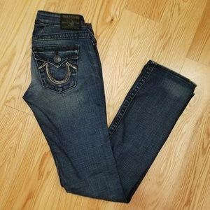 True Religion jeans, pre - loved, sz 26