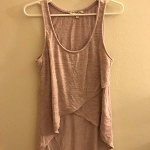 Express high low tank top