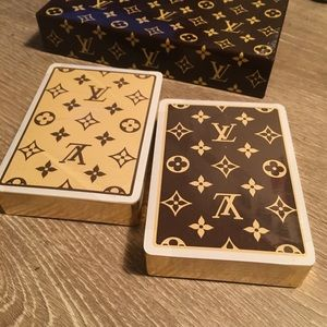 Authentic Rare Louis Vuitton Playing Cards Set