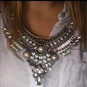 🎉JI🎉Boho Vintage Crystal Rhinestone Necklace