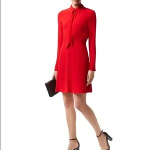 Sandro red Rage dress sz2 (medium)