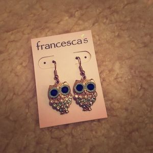 Francesca's Owl Earrings