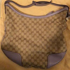 Gucci Hobo Bag in Purple