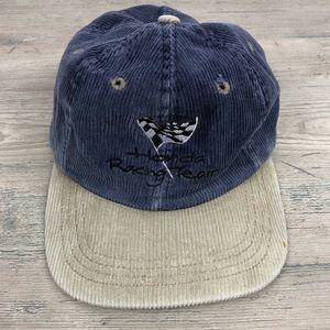 Vintage Honda Racing Team Corduroy SnapBack Hat