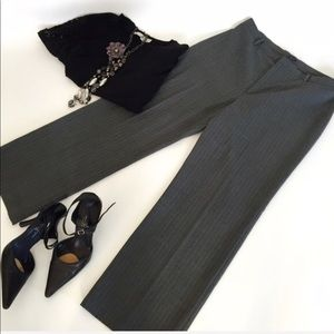 Gap pinstriped trousers size 12