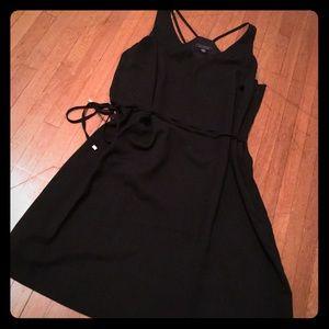 3/$30 beautiful black flirty dress
