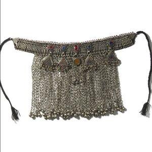 70's Vintage Gypsy Wanderer Tassel Choker