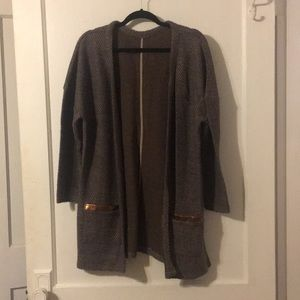 Soft Cozy Sweater Cardi With Unique Pockets