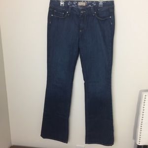 [paige jeans] TALL monte curvy classic boot cut