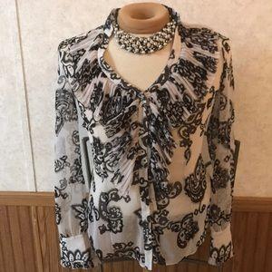White House / Black market blouse