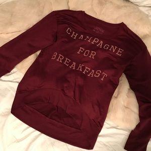 Champagne 🥂 Long sweater tee
