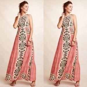 Anthropologie x Bhanuni Botanique Maxi Dress