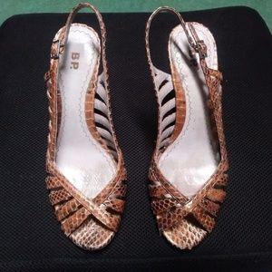 BP Snakeskin heels
