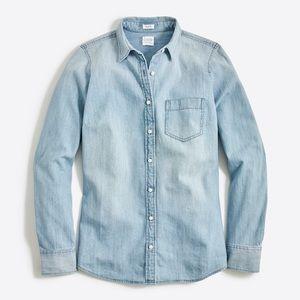 J. Crew Denim Button Down Shirt