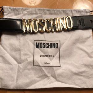 Accessories - Moschino black belt