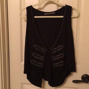 Zara embellished vest