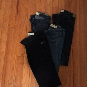 Bundle of Abercrombie & Fitch Jeans
