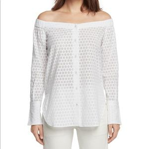 NWT Kacy off the Shoulder Tunic