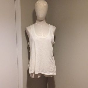 Madewell white tank top- medium