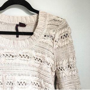 ✨ Chunky Sweater / Cream / Crewneck / Neutral