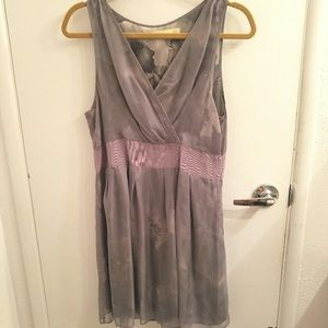 Grey Pins and Needles size 12 dress