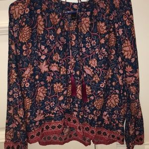 Anthropologie Blouse- Floral Nat by Natalie Martin