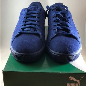 New Blue Suede Shoes! Puma Shoes classic badge