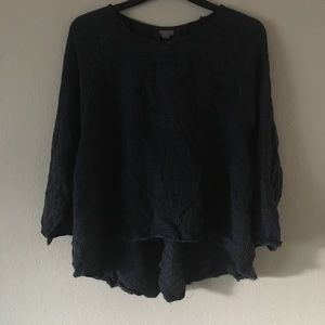 New Urban Outfitters Blue Long Sleeve Sweater