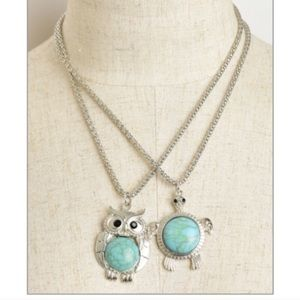 """NWT turtle necklace with silver chain about 16"""" L"""