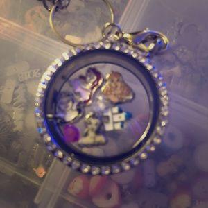 Princess floating locket