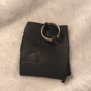 NWT Urban Outfitters Golden Ring Sz 8